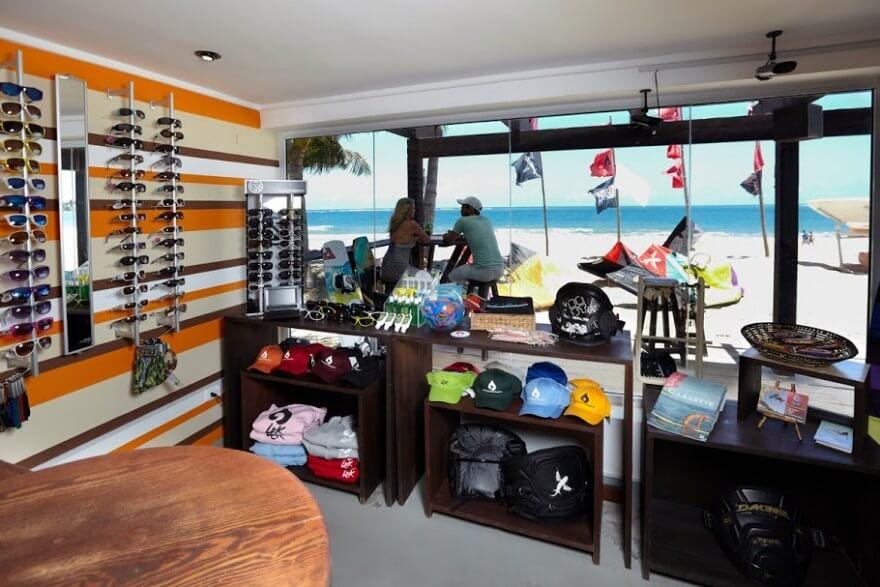 Kiteboarding School View Cabarete Dominican Republic Beach Paradise