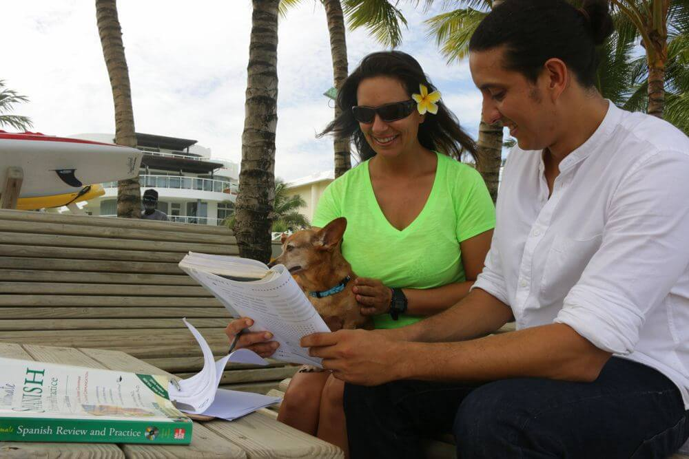 Spanish Lesson at LEK Cabarete Dominican Republic