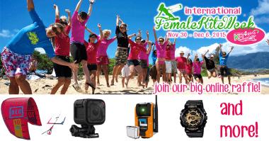 International Female Kite Week by KB4girls