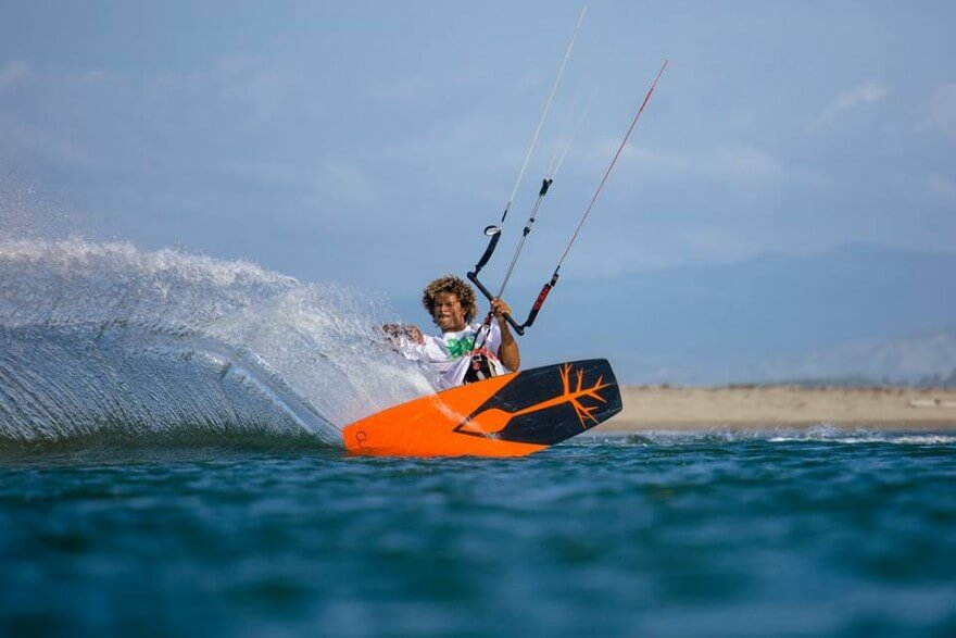 Of course theres kiteboarding as well - including legends like Andre Phillip captured here by Jason Lombard from the MaiTai crew