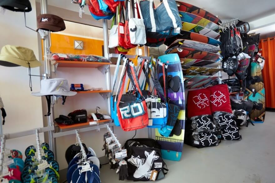 LEK kitesurfing shop Dominican Republic