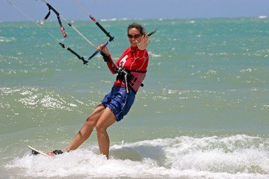 Laurel Eastman professional kiteboarder