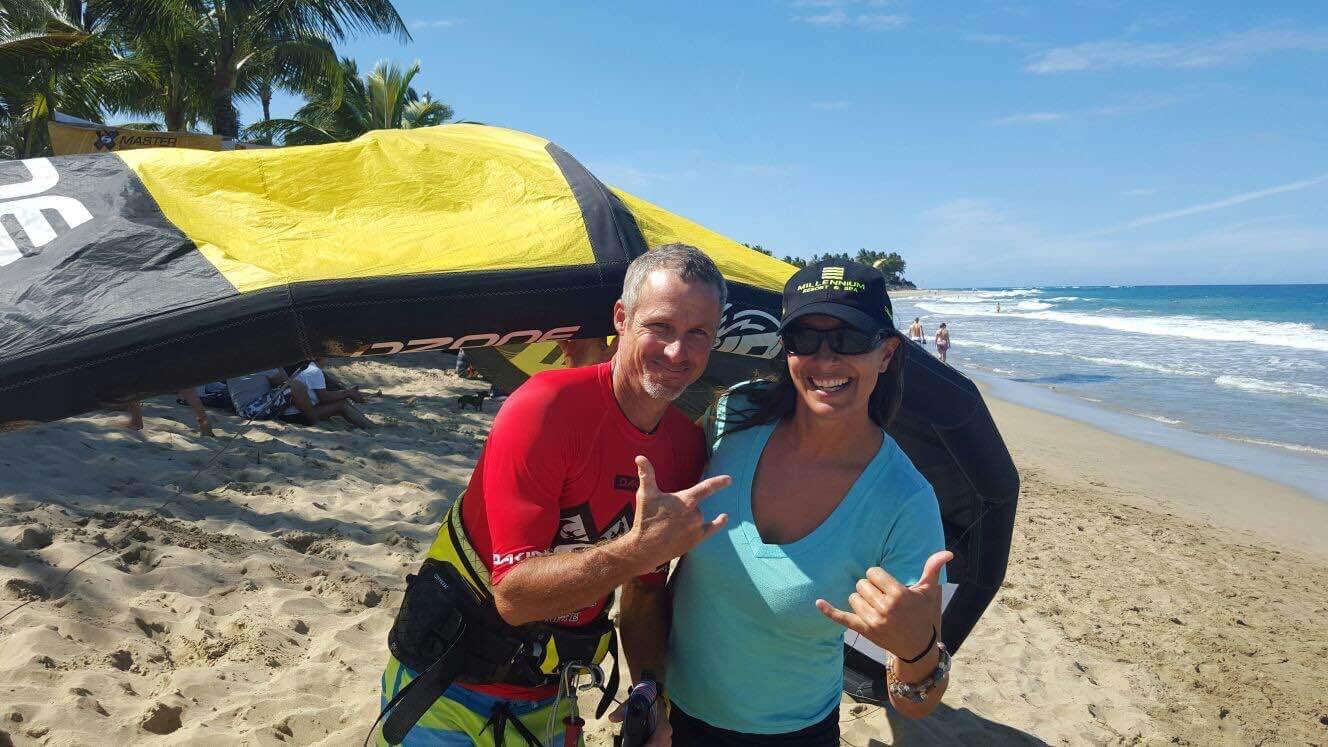 Michael Gebhart Ozone Rider Olympian Kitesurfing Cabarete