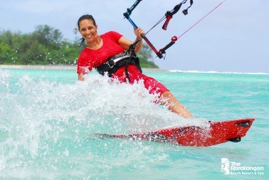 Laurel Eastman - professional kiteboarder
