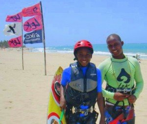 Kids can kiteboard too!