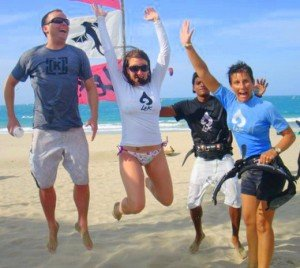 Kiting makes us jump for joy!